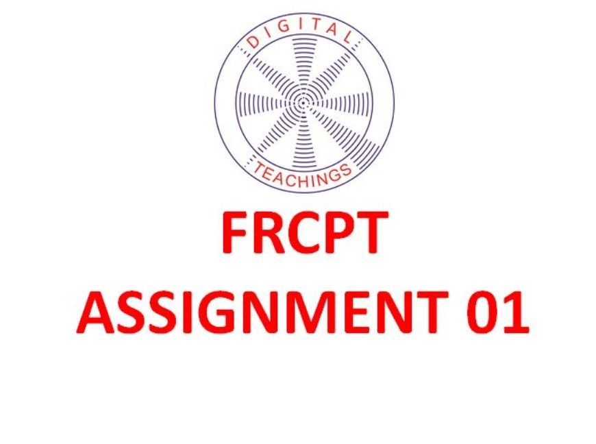 FRCPT Assignment 01: Your experience with integrating imaging in practice