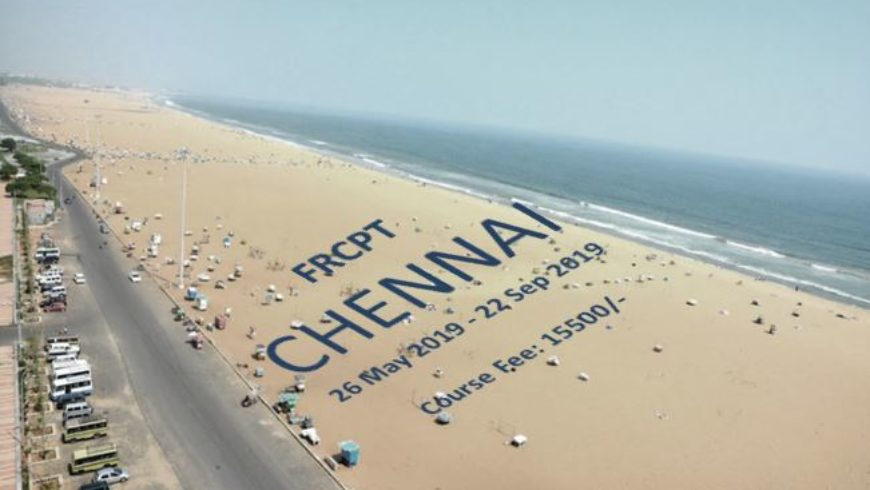 FRCPT – Summer 2019, Chennai – Fee, Venue & Lecture Schedule